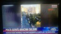 Mersin'de Polis Aracına Bombalı Saldırı Düzenlendi