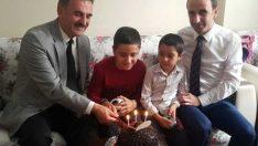 Engelli Çocuğa Refik Yılmaz'dan Süpriz Doğum Günü
