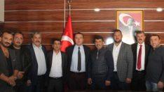 MHP'den Emniyet Müdürünü Ziyaret Etti