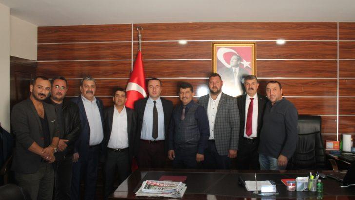 MHP'den Emniyet Müdürüne ziyaret