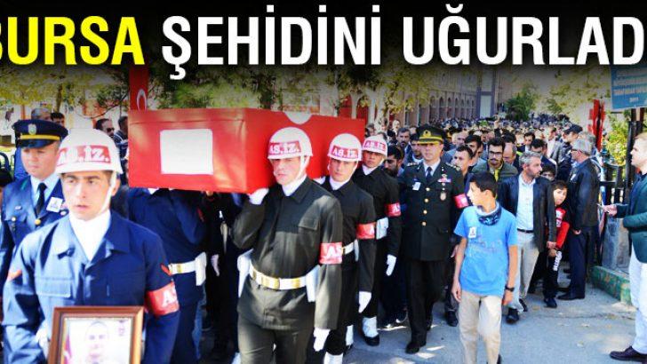 Bursa'da şehide son görev!