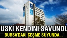 Bursa'da suda alüminyum iddialarına BUSKİ'den cevap