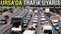 Bursa'da bu yollara dikkat! (13 Ekim 2017 Cuma)
