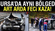 Bursa-Ankara karayolunda 2 ayrı kaza! Yaralılar var