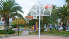 Basketbol Sahaları Yeni Görünümüne Kavuştu