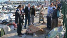 Kurşunlu Balıkçı Barınağı'nda Temizlik Başladı