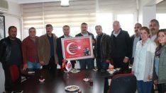 Şehit Ailelerinden MHP'ye Ziyaret