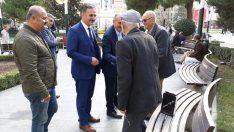 Müezzinoğlu'ndan Gemlik'te Esnaf Ziyareti