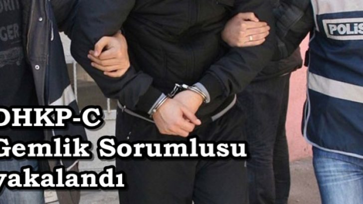 DHKP-C Gemlik sorumlusu yakalandı