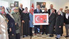Şehit Aileleri Derneğinden Yılmaz'a Teşekkür Ziyareti