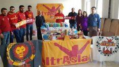 Ultraslan'dan Kırtasiye Yardımı