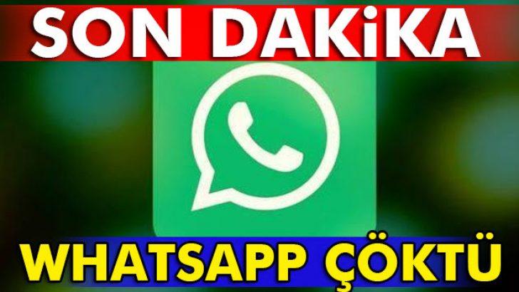 WhatsApp Çöktü !