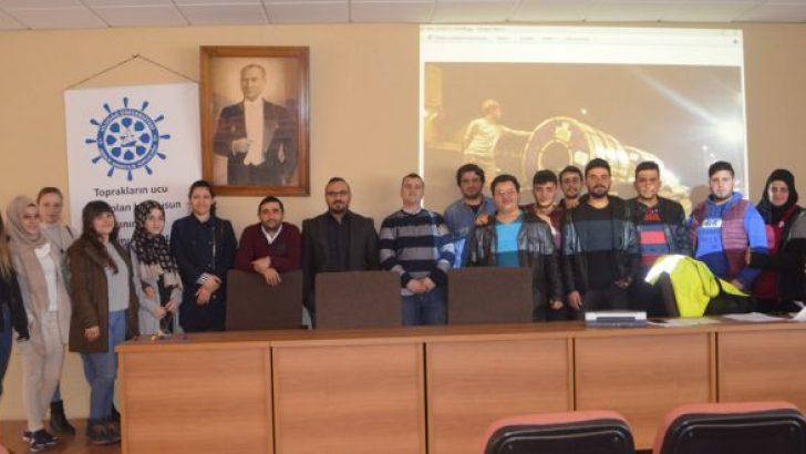 Ahmet Sözen Deniz Gözetim Hizmetlerini Anlattı