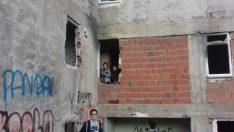 Atıl Binalar Tehlike saçıyor