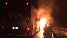 Otobanda Otobüs Yangını