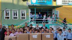 Gazi'li Miniklerden Doğuya Yardım Eli