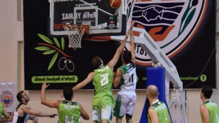 Gemlik Basketbol : 71 Mersin Büyükşehir : 74