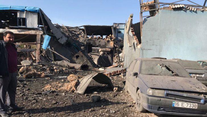Bursa'da Patlama 5 Ölü 9 Yaralı