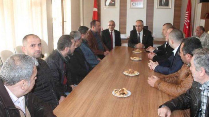 MHP'DEN CHP'YE HAYIRLI OLSUN ZİYARETİ