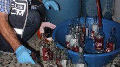 Yılbaşı Öncesi Sahte Alkol Ele Geçirildi