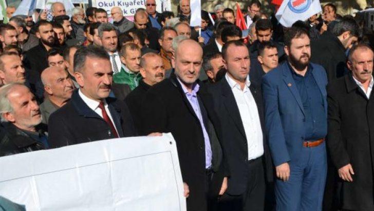 Gemlik'te binler Kudüs İçin Toplandı