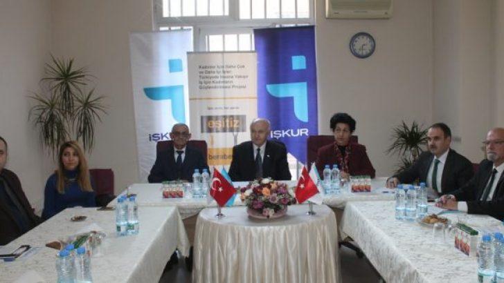 İşkur'da Engelli İstihdam Toplantısı