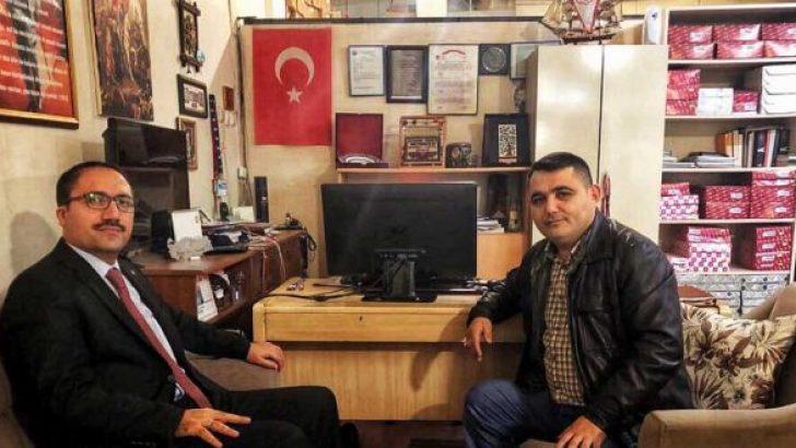 Müftü Şavlı'dan Gazetemize Ziyaret