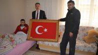 Yılmaz Afrin Gazisini Ziyaret Etti